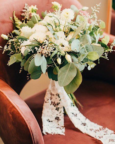 Ramo de noiva elaborado pela Terrárea para casamentos.